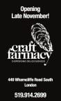 Craft Farmacy Opening Late November!