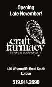 Craft Farmacy Opening Late November!