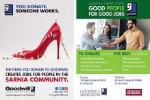 YOU DONATE.  SOMEONE WORKS.