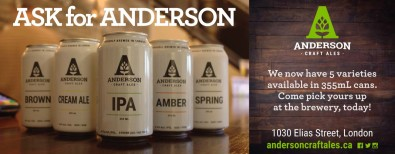 We now have 5 varieties available in 355mL cans.