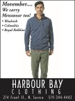 Menswear at HARBOUR BAY CLOTHING
