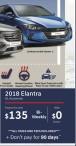 2018 Elantra GL Automatic