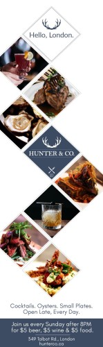 HUNTER & CO. Cocktails. Oysters. Small Plates.