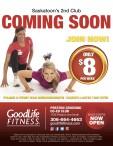 Saskatoon's 2nd GoodLife Fitness Club Coming Soon