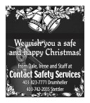 We wish you a safe and happy Christmas!