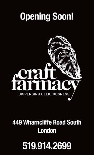 Opening Soon!  Craft Farmacy DISPENSING DELICIOUSNESS