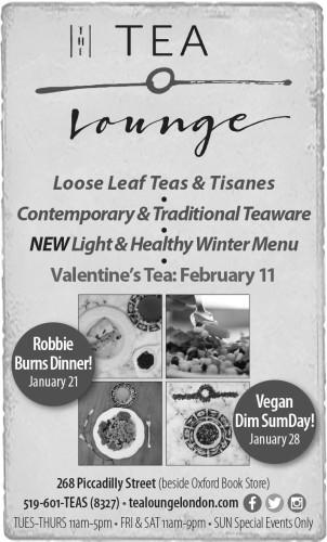 TEA Lounge  Loose Leaf Teas & Tisanes