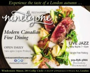 Experience the taste of a London autumn...