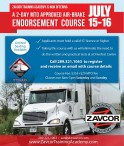 ZAVCOR TRAINING ACADEMY IS NOW OFFERING A 2-DAY MTO APPROVED AIR-BRAKE ENDORSEMENT COURSE