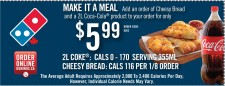 MAKE IT A MEAL at Domino's Pizza