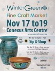 Winter Green 2017  Fine Craft Market