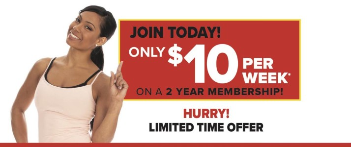 Join Goodlife Today! Only $10 Per Week.