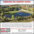 FABULOUS GTA COUNTRY ESTATE for sale