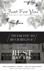 Just for You Voted Best Day Spa