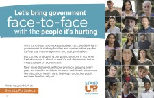 Let's bring government face-to-face with the people it's hurting