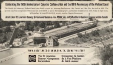 Celebrating the 150th Anniversary of Canada's Confederation and the 188th Anniversary of the Welland Canal