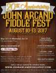 JOHN ARCAND FIDDLE FEST 20TH ANNIVERSARY