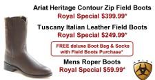 Ariat Heritage Contour Zip Field Boots