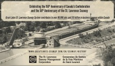 Celebrating With Great Lakes St. Lawrence Seaway System
