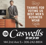 THANKS FOR VOTING US BEST MEN'S BUSINESS WEAR