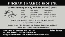 FINCHAM'S HARNESS SHOP