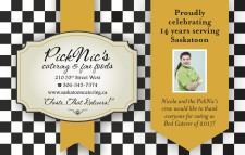 PickNic's Catering & Fine Foods Proudly celebrating 14 years serving Saskatoon