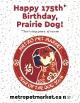 Happy 175th Birthday, Prairie Dog!