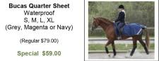 Bucas Quarter Sheet Waterproof