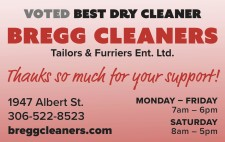 Bregg Cleaners VOTED BEST DRY CLEANER