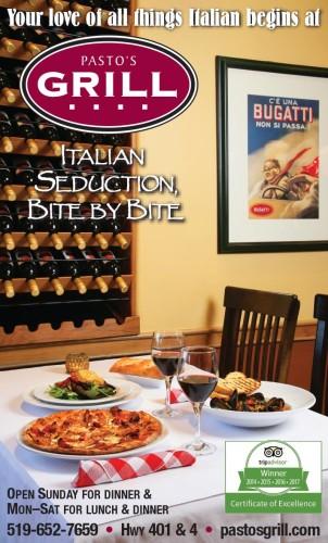 ITALIAN SEDUCTION, BITE BY BITE