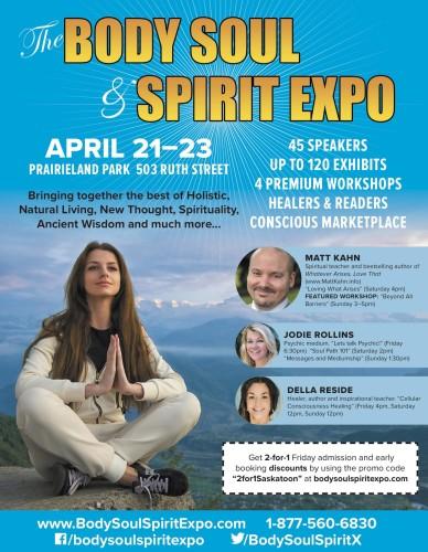 The BODY SOUL & SPIRIT EXPO