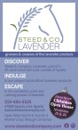STEED & CO LAVENDER:  growers & creators of fine lavender products
