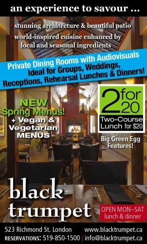 NEW Spring Menus! + Vegan & Vegetarian MENUS