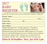 ECA Review 2017 BABY REGISTER