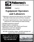 Equipment Operators and Labourers