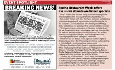 Try the amazing new Regina Restaurant Week