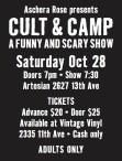 Aschera Rose presents CULT & CAMP