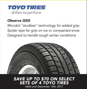 Toyo Tires: Driven To Perform