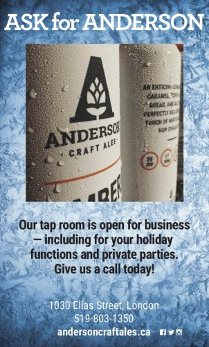 Anderson Craft Ales tap room is open for business