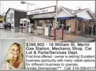 Gas Station, Mechanic Shop, Car Lot & Parts/Services Dept. for sale