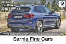Introducing the... The All New 2018 BMW X3