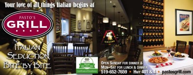 Your love of all things Italian begins at PASTO'S GRILL