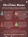 Christmas Menus at Dante Club