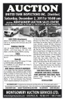 MONTGOMERY AUCTION SERVICES