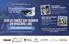 JOIN US FAMILY DAY MONDAY ON WASCANA LAKE