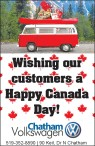 Wishing our customers a Happy Canada Day!