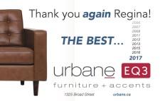 Urbane EQ3 Voted Best of 2017