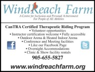 CanTRA Certified Therapeutic Riding Program