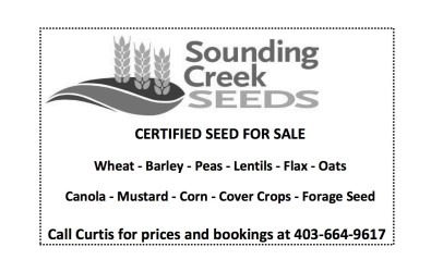 CERTIFIED SEED FOR SALE