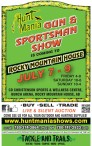 Hunt Mania GUN AND SPORTSMAN SHOW  IS COMING TO ROCKY MOUNTAIN HOUSE JULY 7 - 9